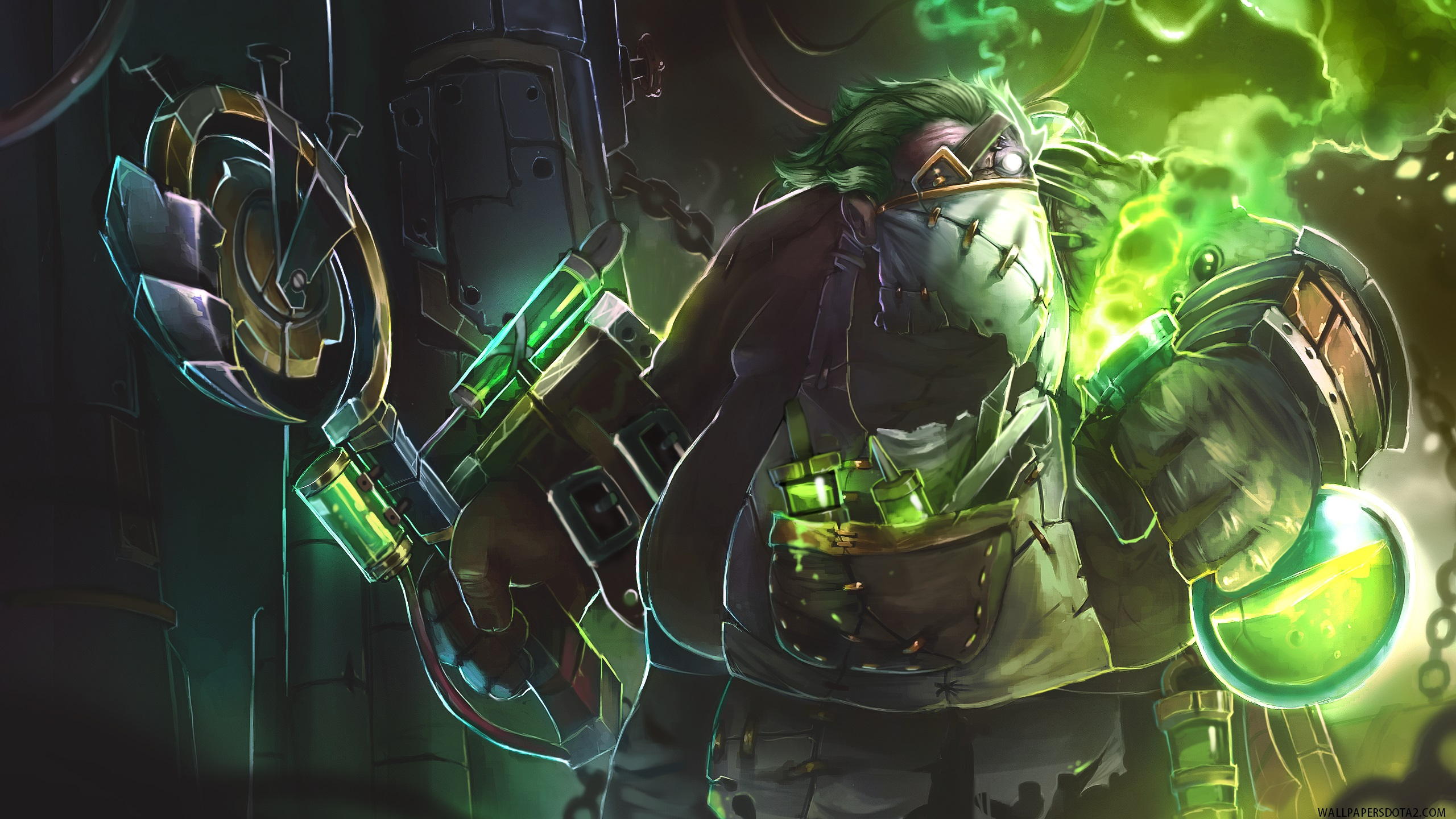 Pudge desktop wallpaper high resolution Dota 2
