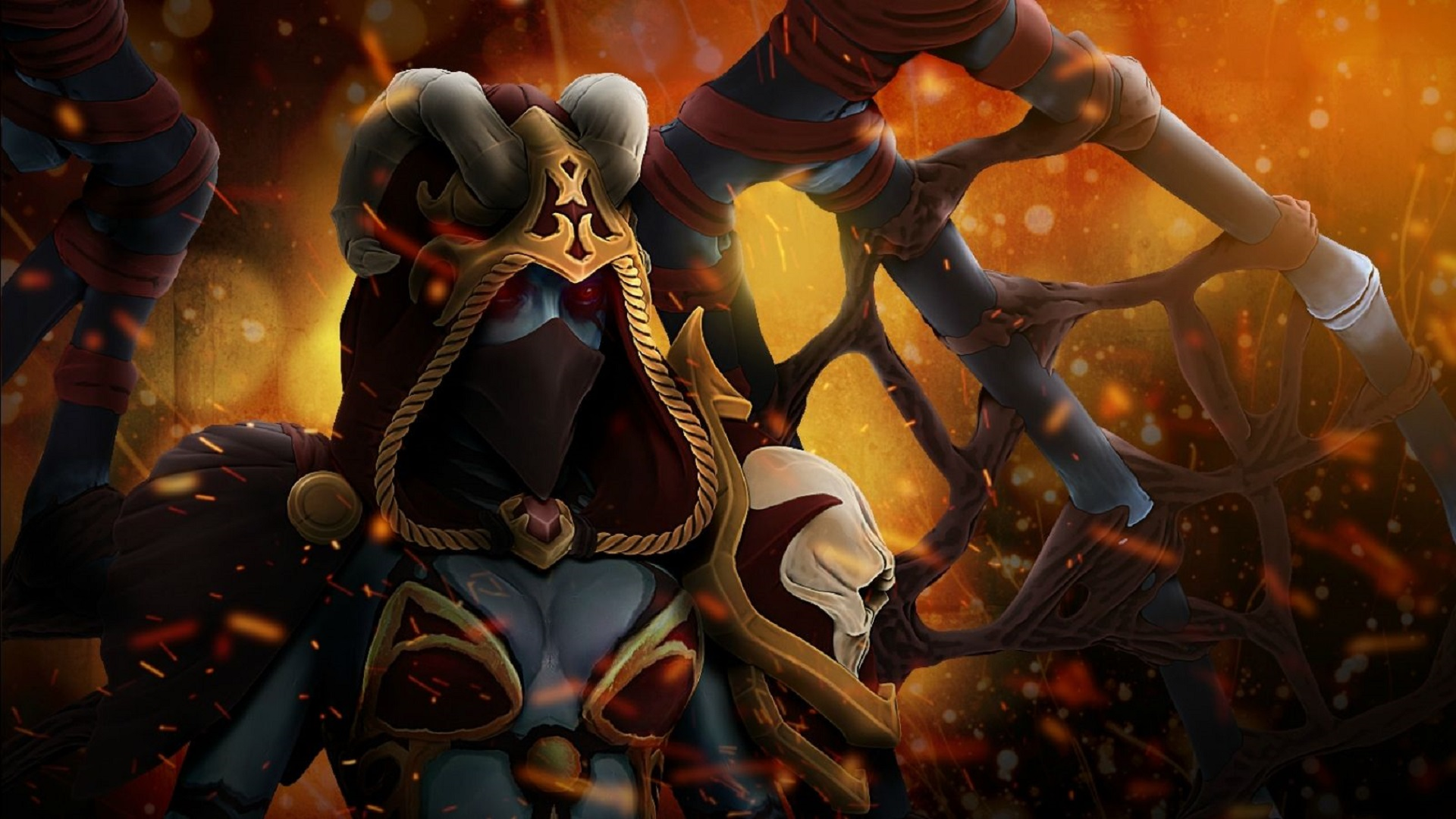 Queen of Pain Throes of Anguish Set  Dota 2 desktop sale