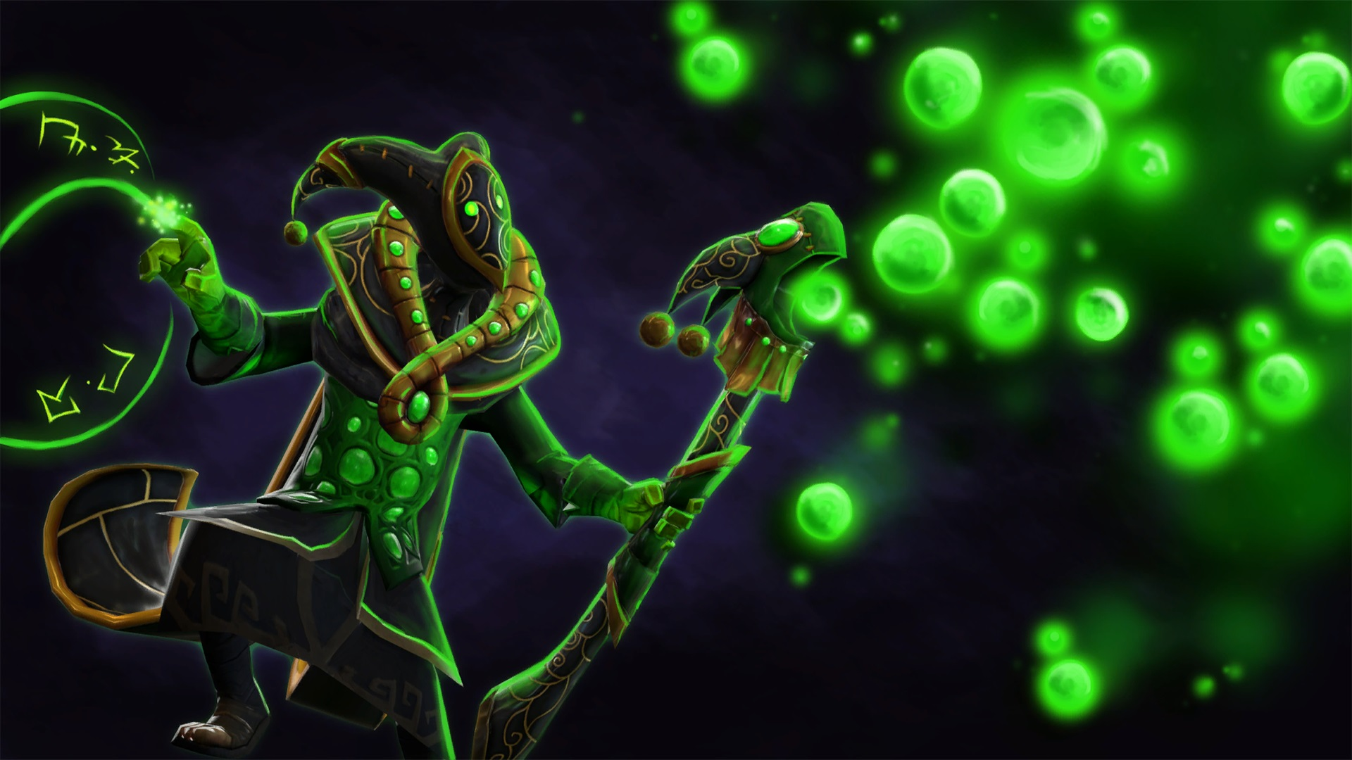 Rubick Wandering Harlequin's Regalia  Dota 2 best wallpapers