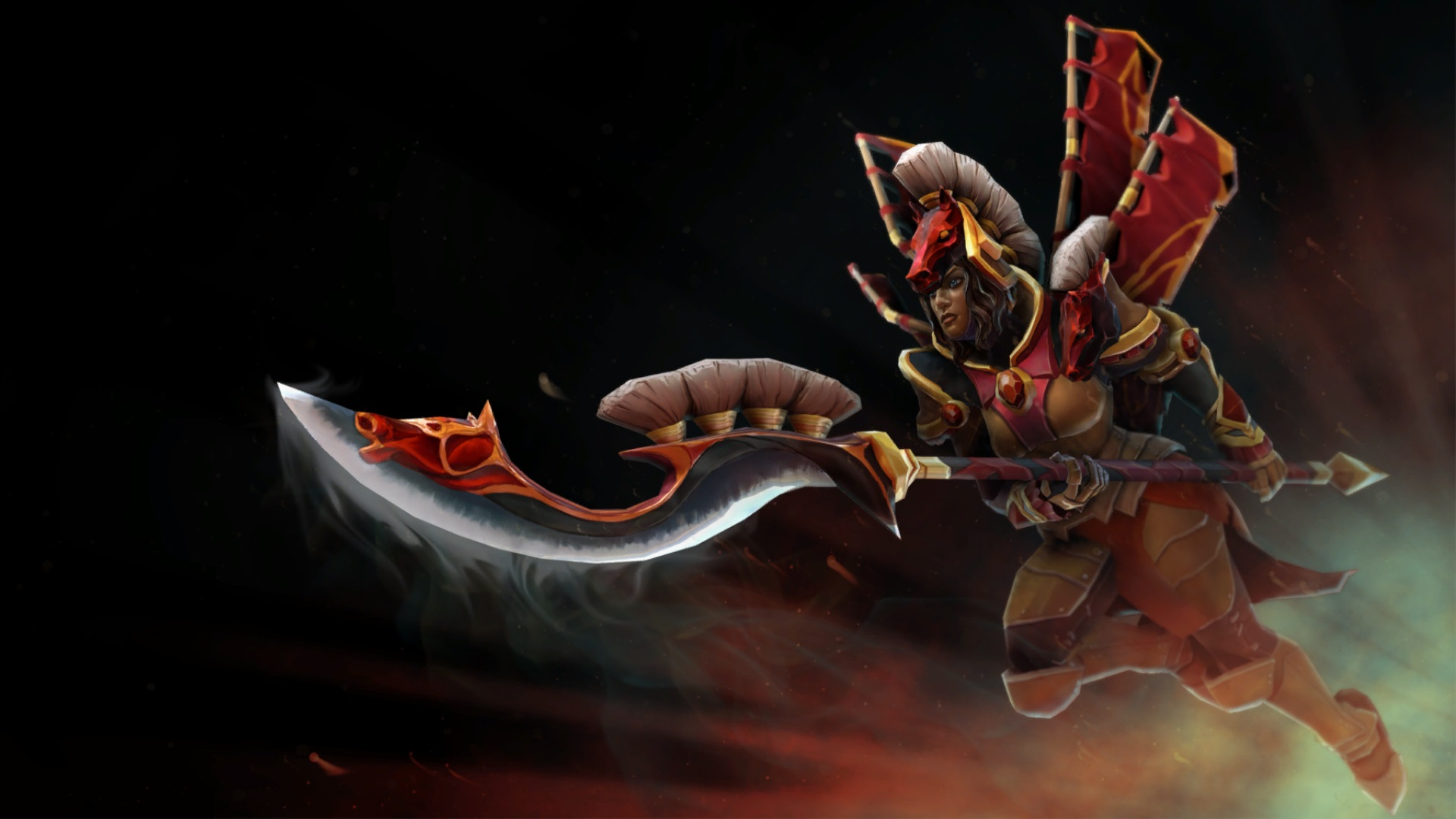 Legion Commander wallpaper for desktop computer Dota 2