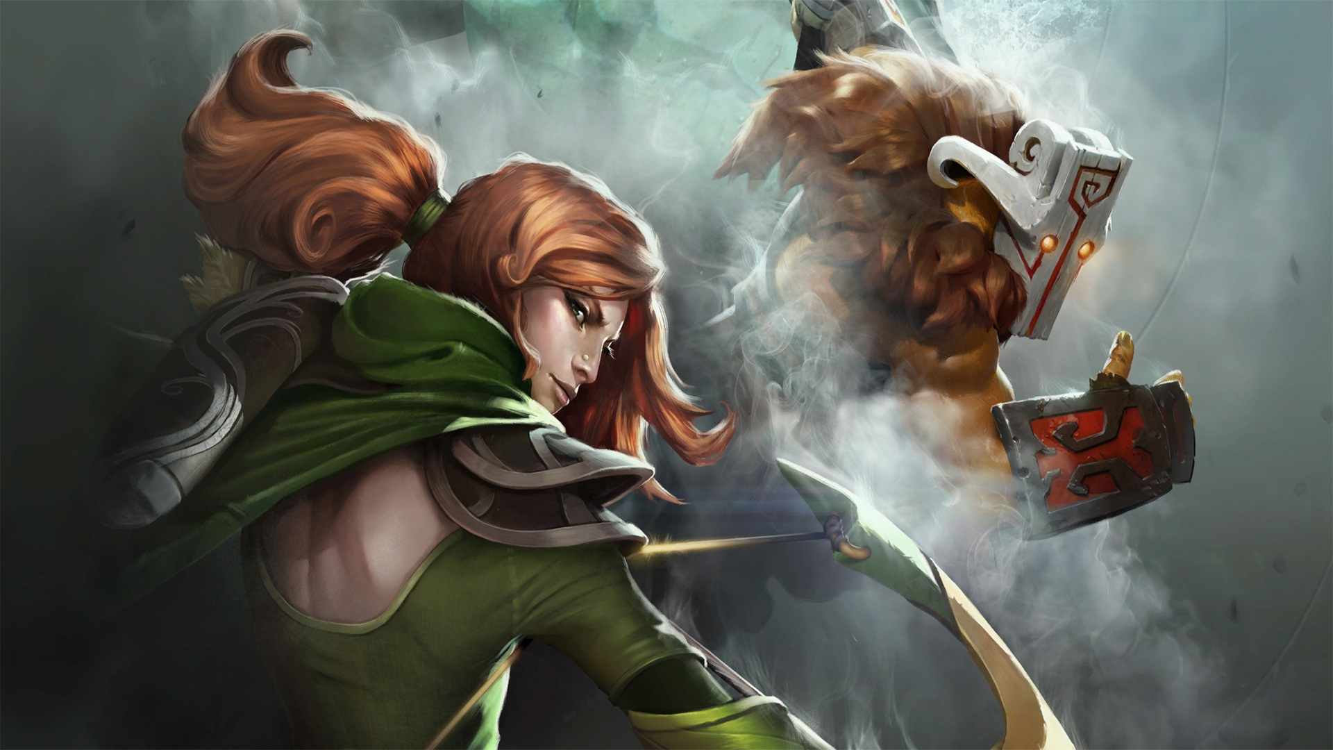 Windranger background pictures for laptop Dota 2