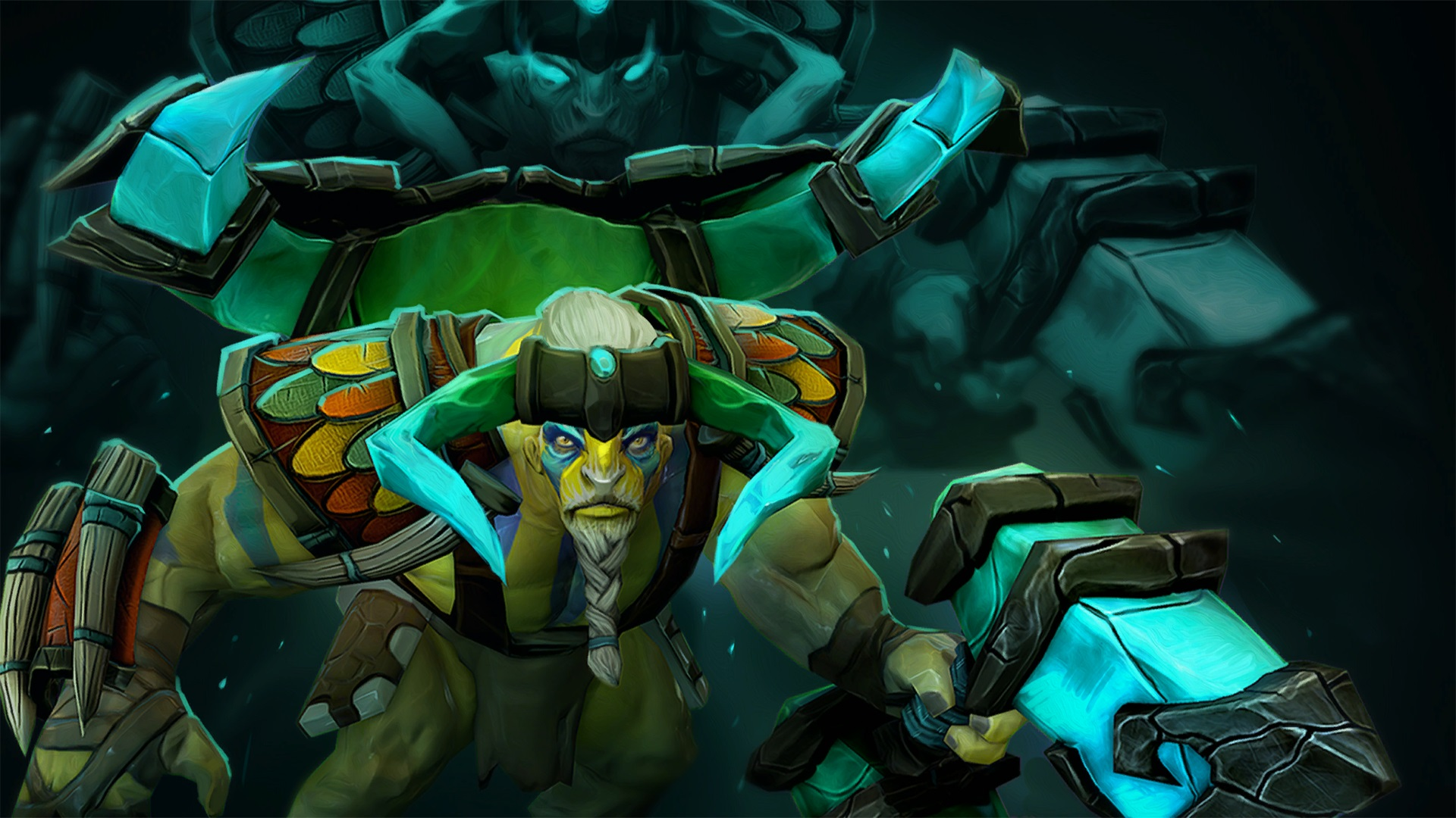 Elder Titan Worldforger Dota 2 levelup Wallpapers