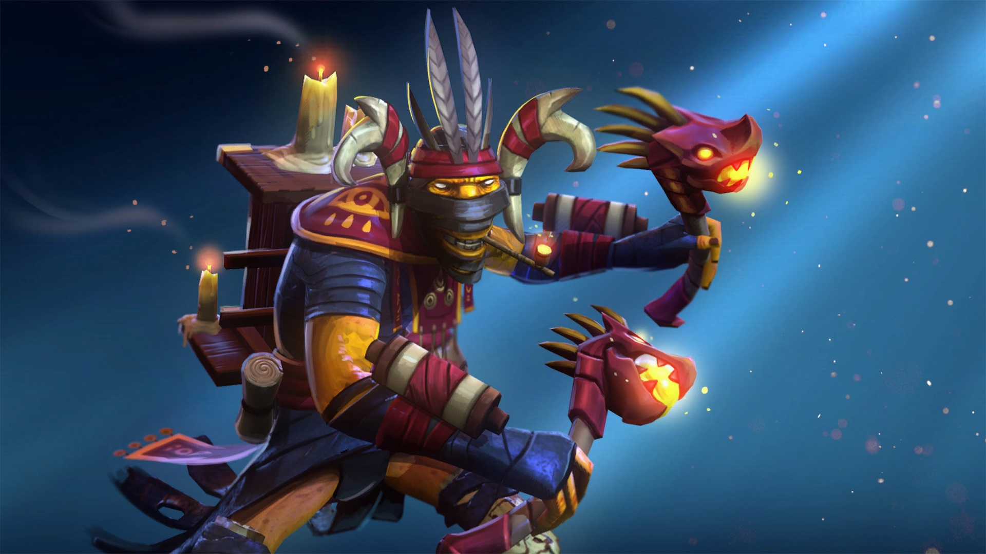 Shadow Shaman Mystic Instruments of Tang-Ki set Dota 2 free images