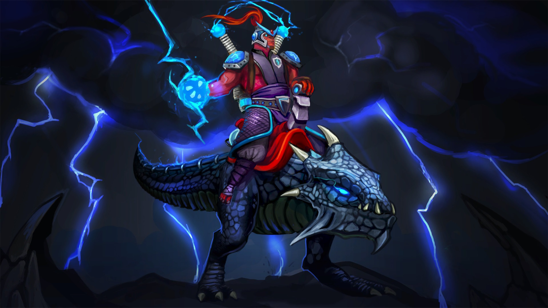 Disruptor Static Lord dota 2 new heroes