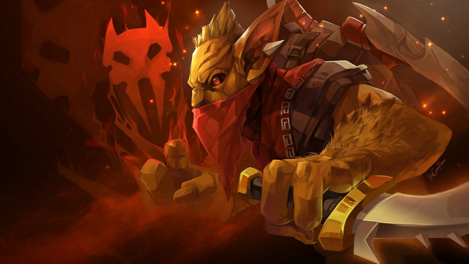 Bounty Hunter download wallpapers for desktop Dota 2