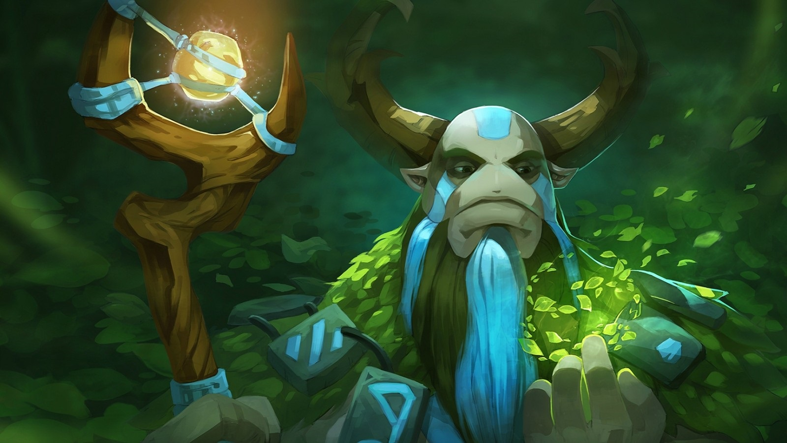 Nature's prophet hd wallpapers for computer desktop Dota 2