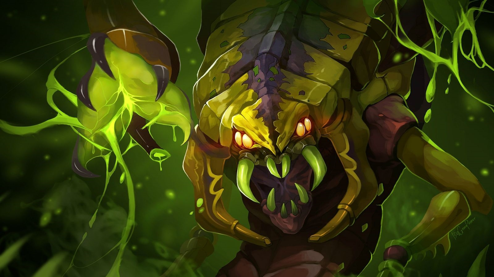 Venomancer desktop backgrounds hd free Wallpapers Dota 2