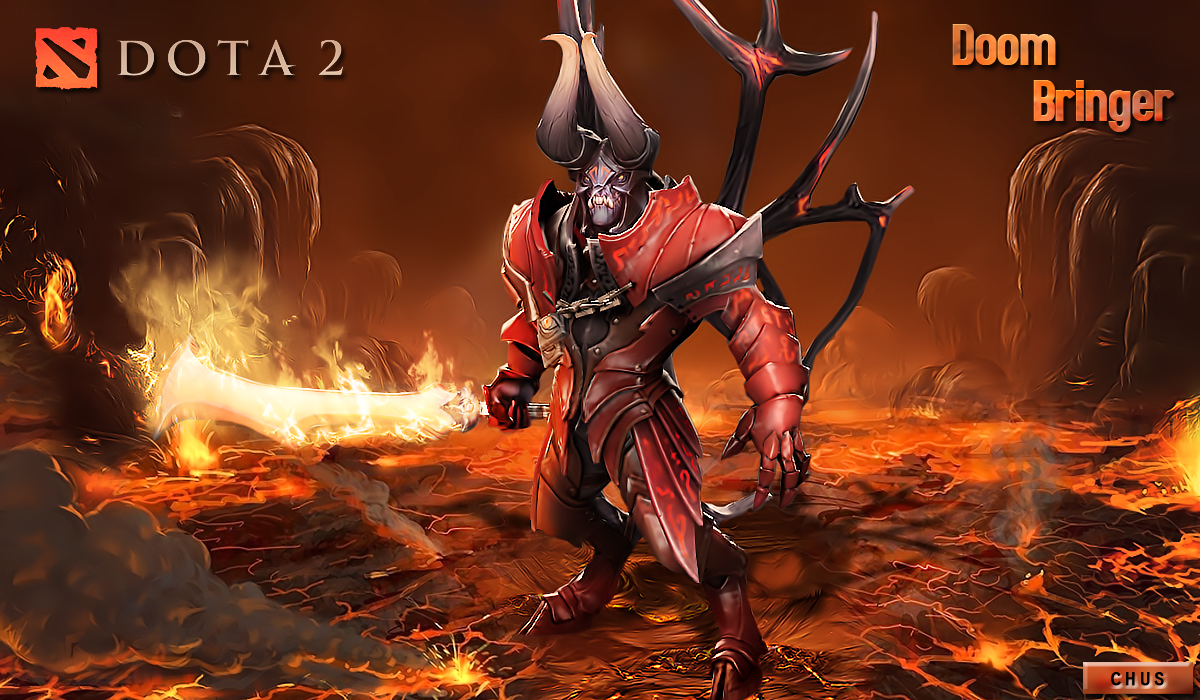 Doom wallpaper images Dota 2