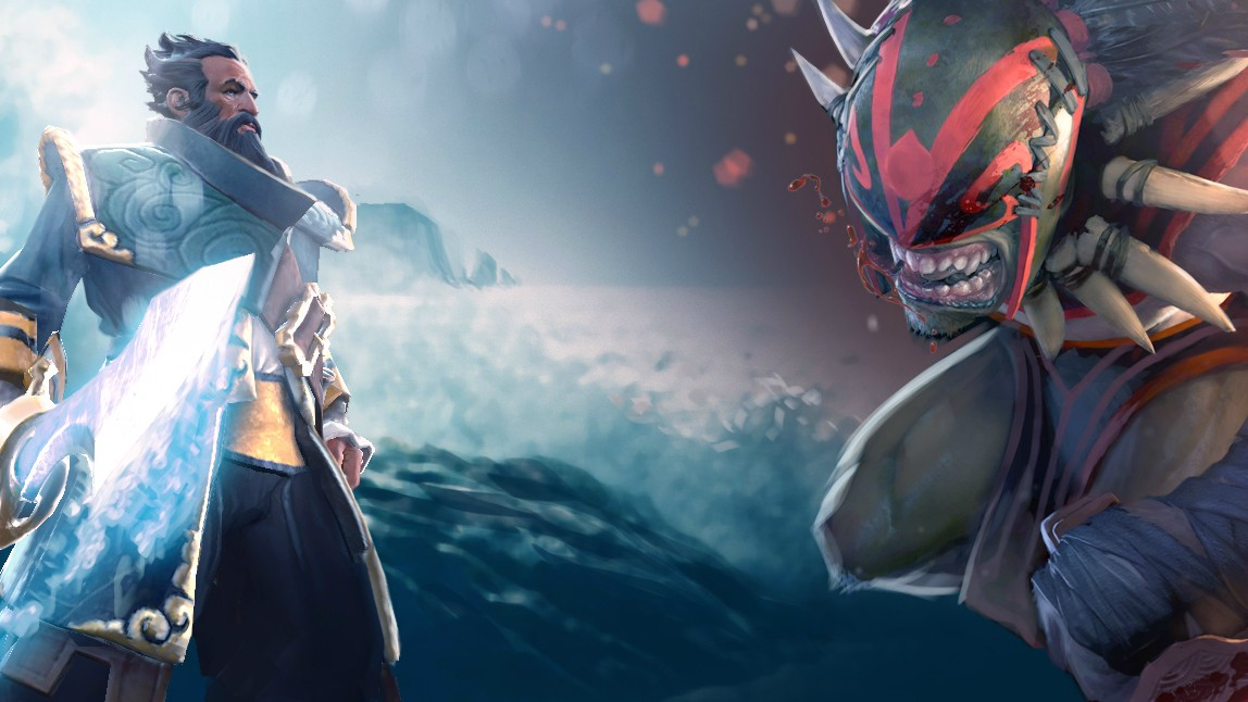 Bloodseeker & Kunkka pictures for desktop Dota 2