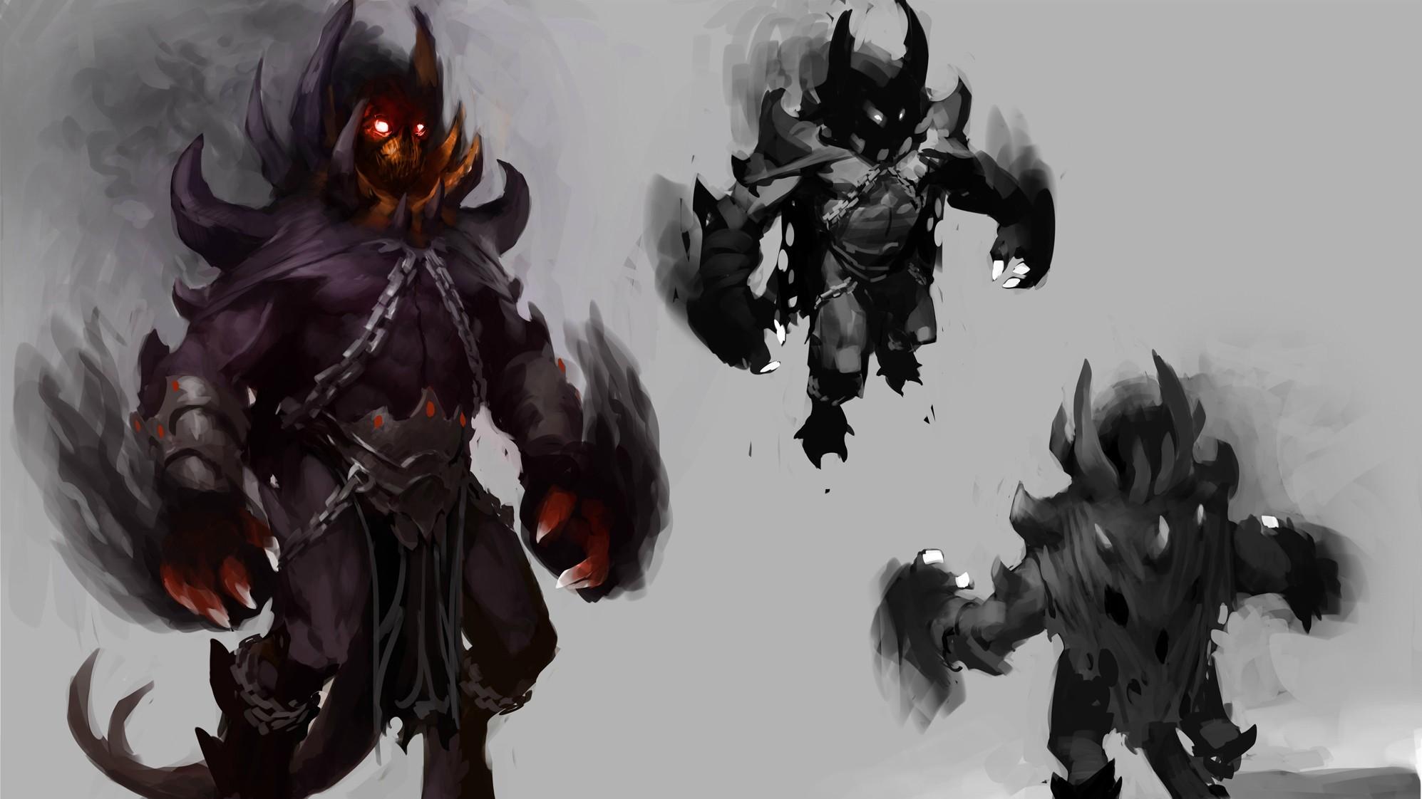 Shadow Demon ART Wallpapers Dota 2
