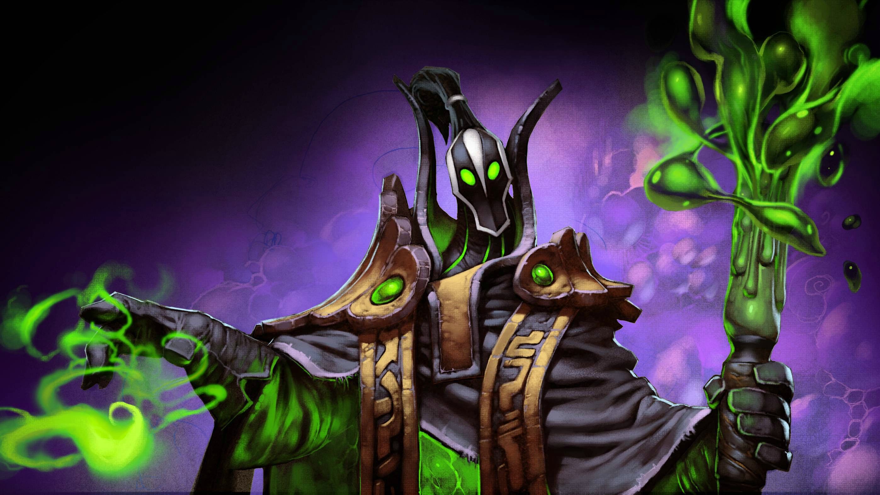 Dota 2 Rubick wallpapers
