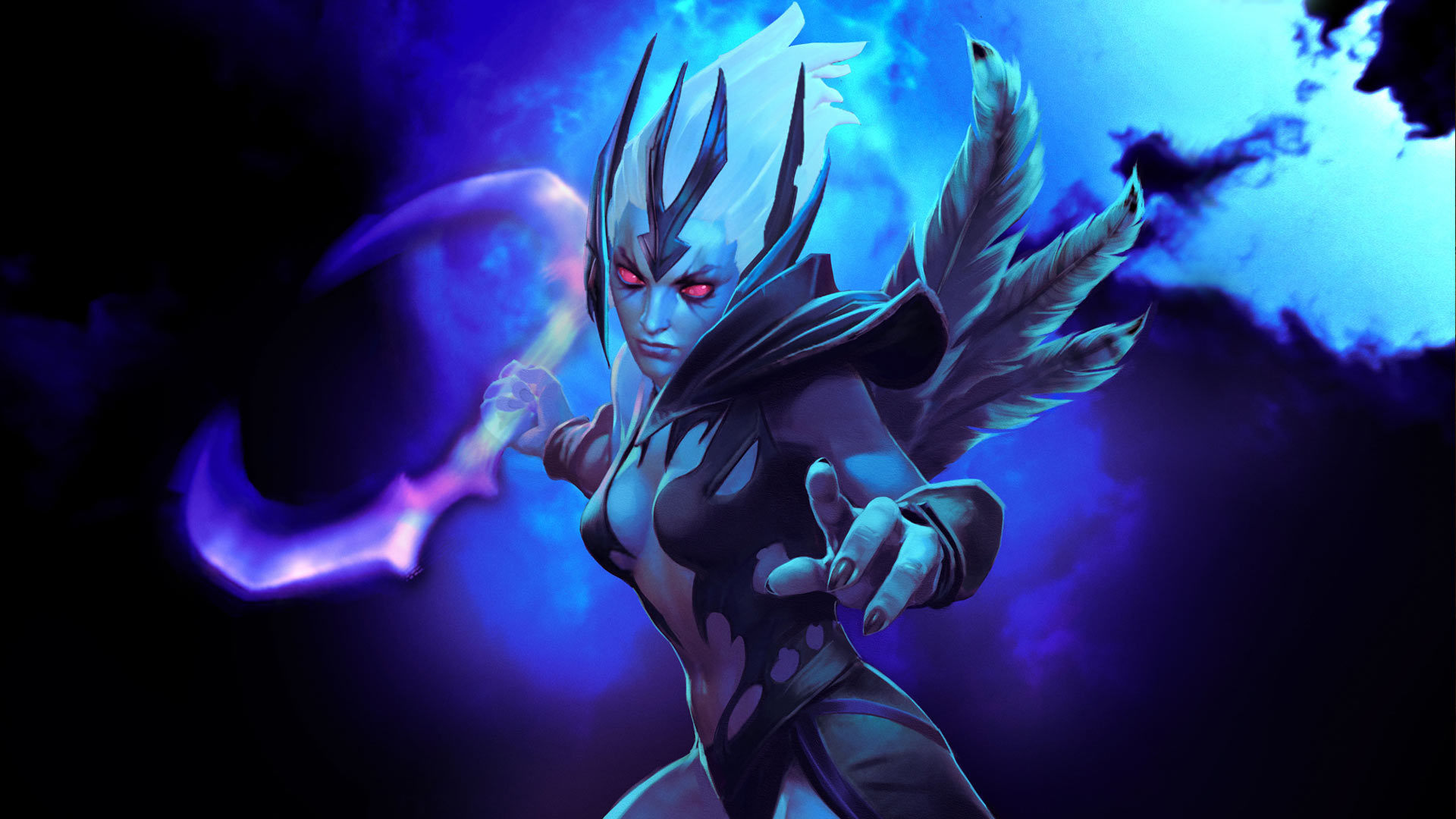 Vengeful Spirit free wallpaper for computers Dota 2