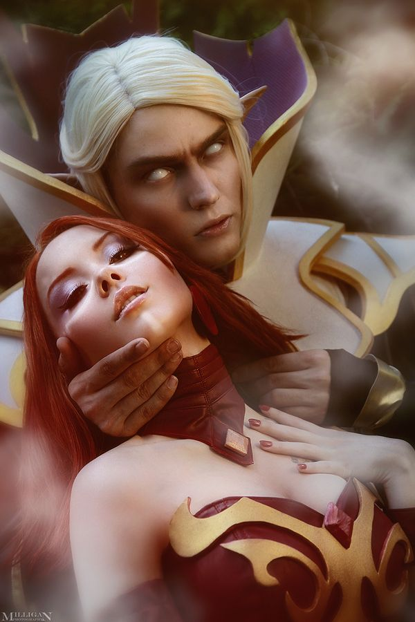 Invoker & Lina Cool iphone wallpapers Dota 2