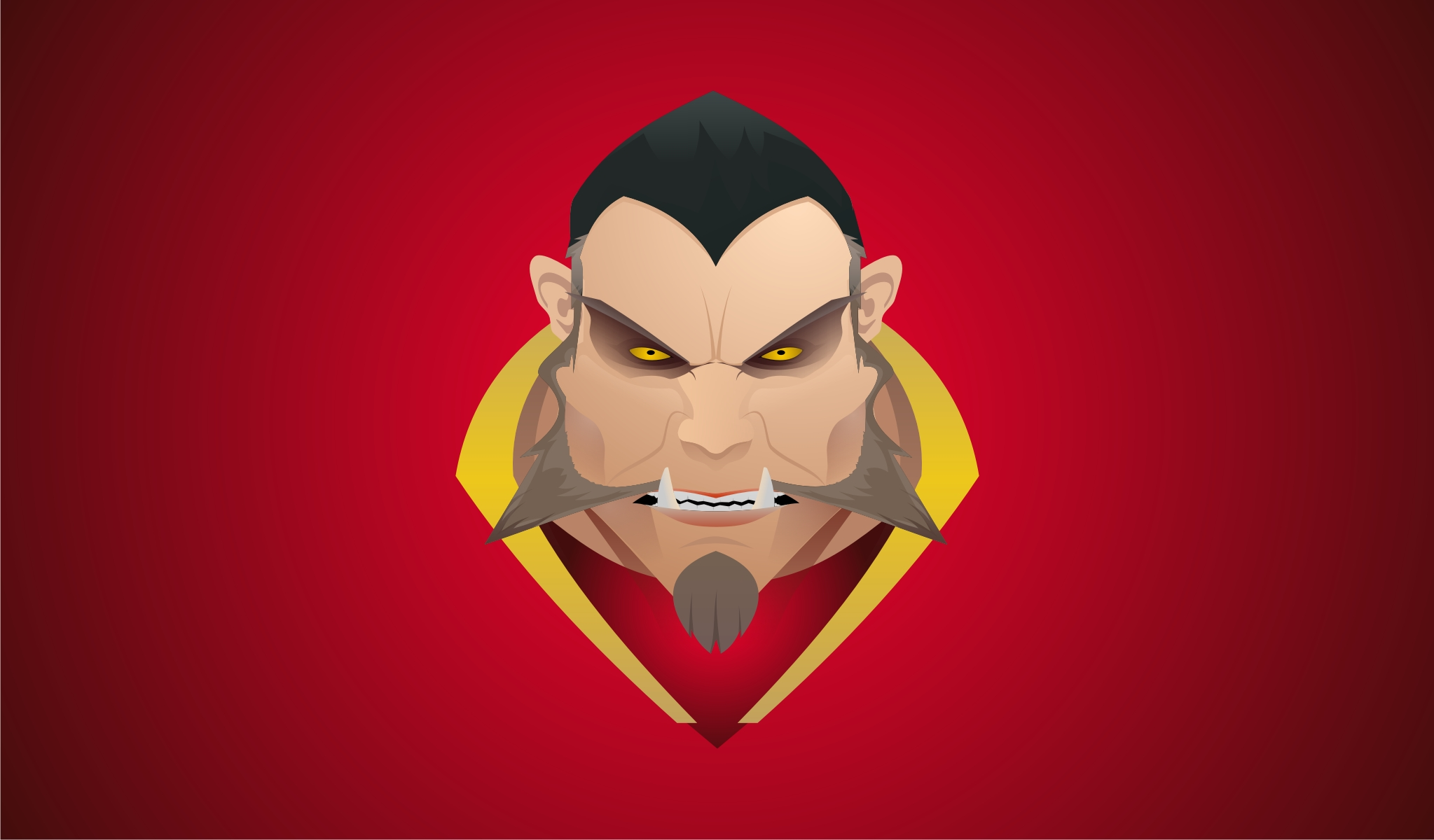Lycanthrope Lucan Red Wallpapers Dota 2