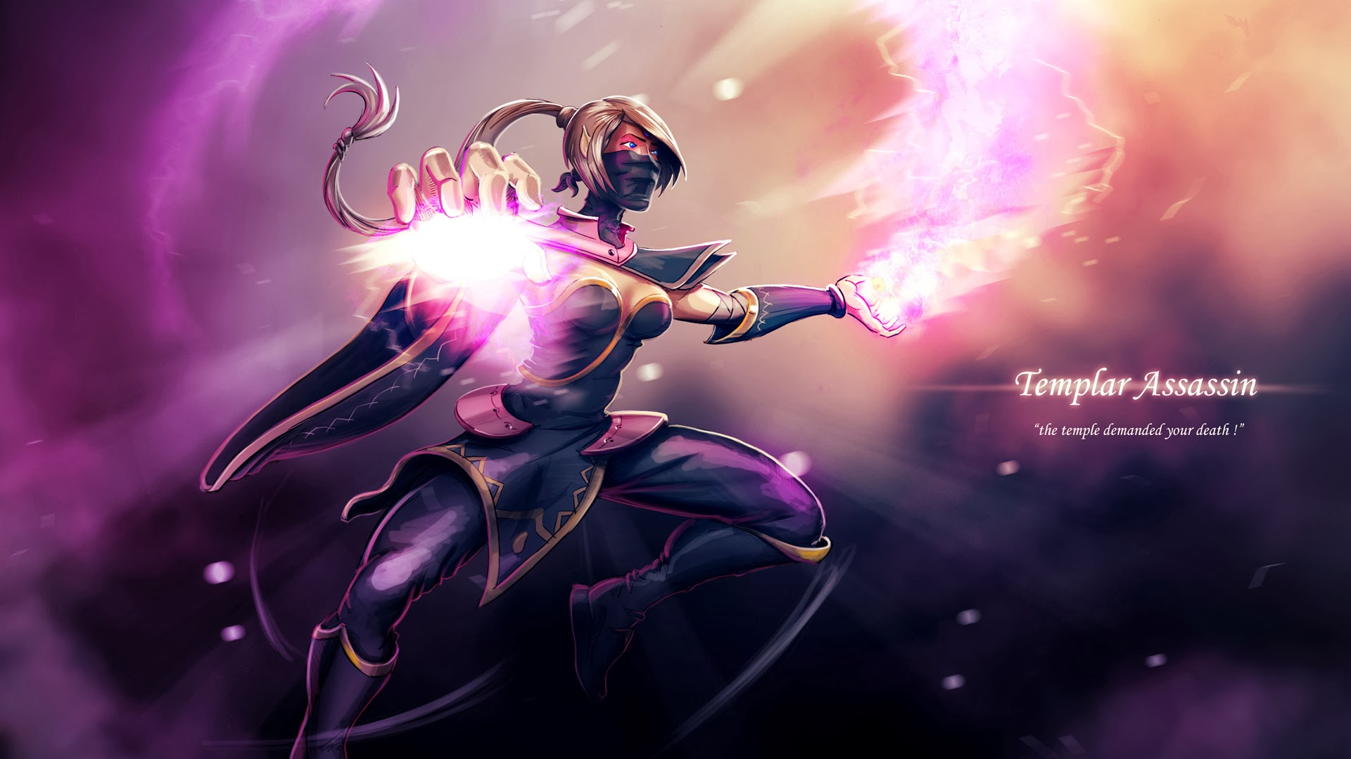 Templar Assassin wallpaper online Dota 2