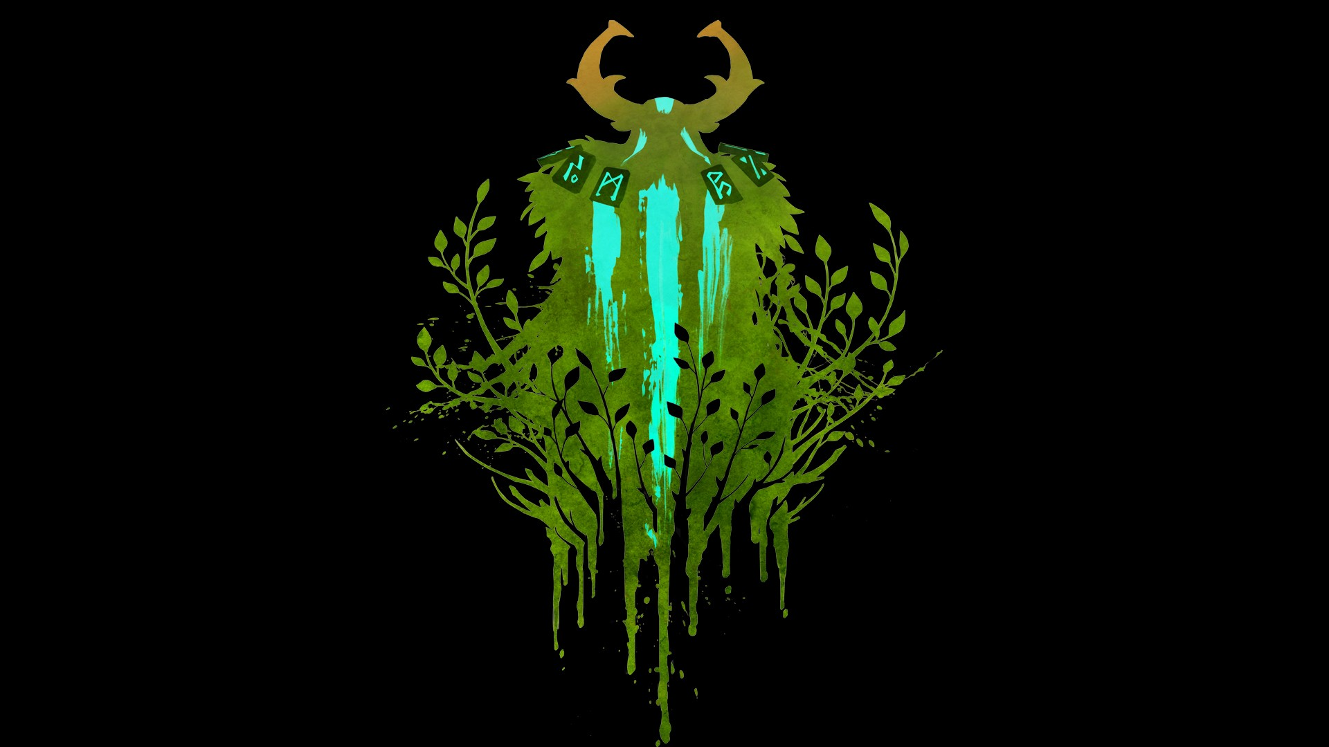 Nature's Prophet backgrounds for pc laptops Dota 2
