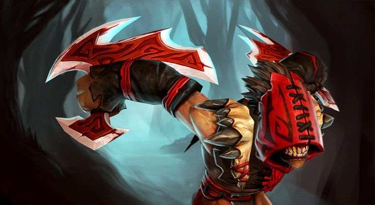 Bloodseeker ipad wallpapers hd Dota 2