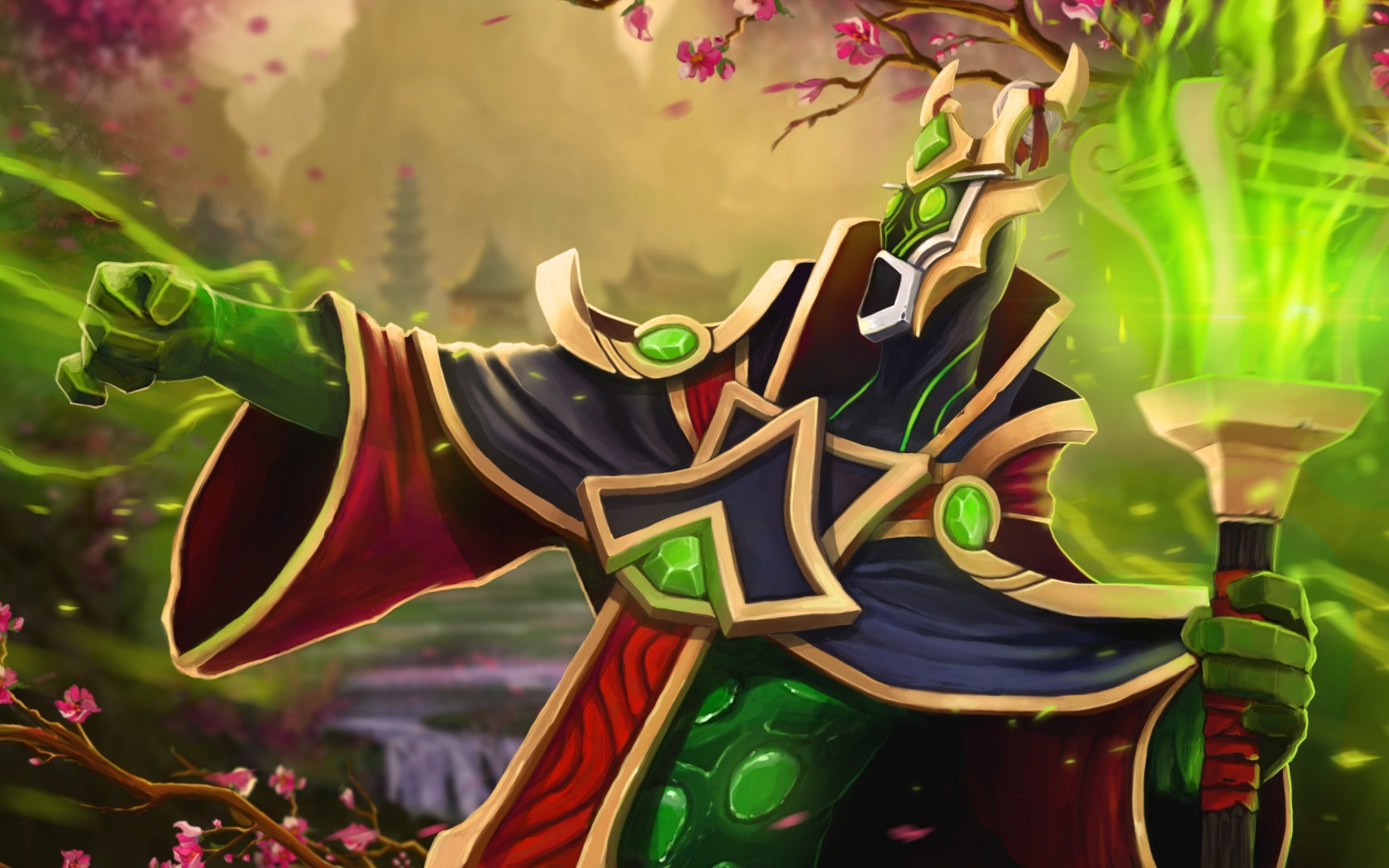Rubick New Set desktop wallpapers Dota 2