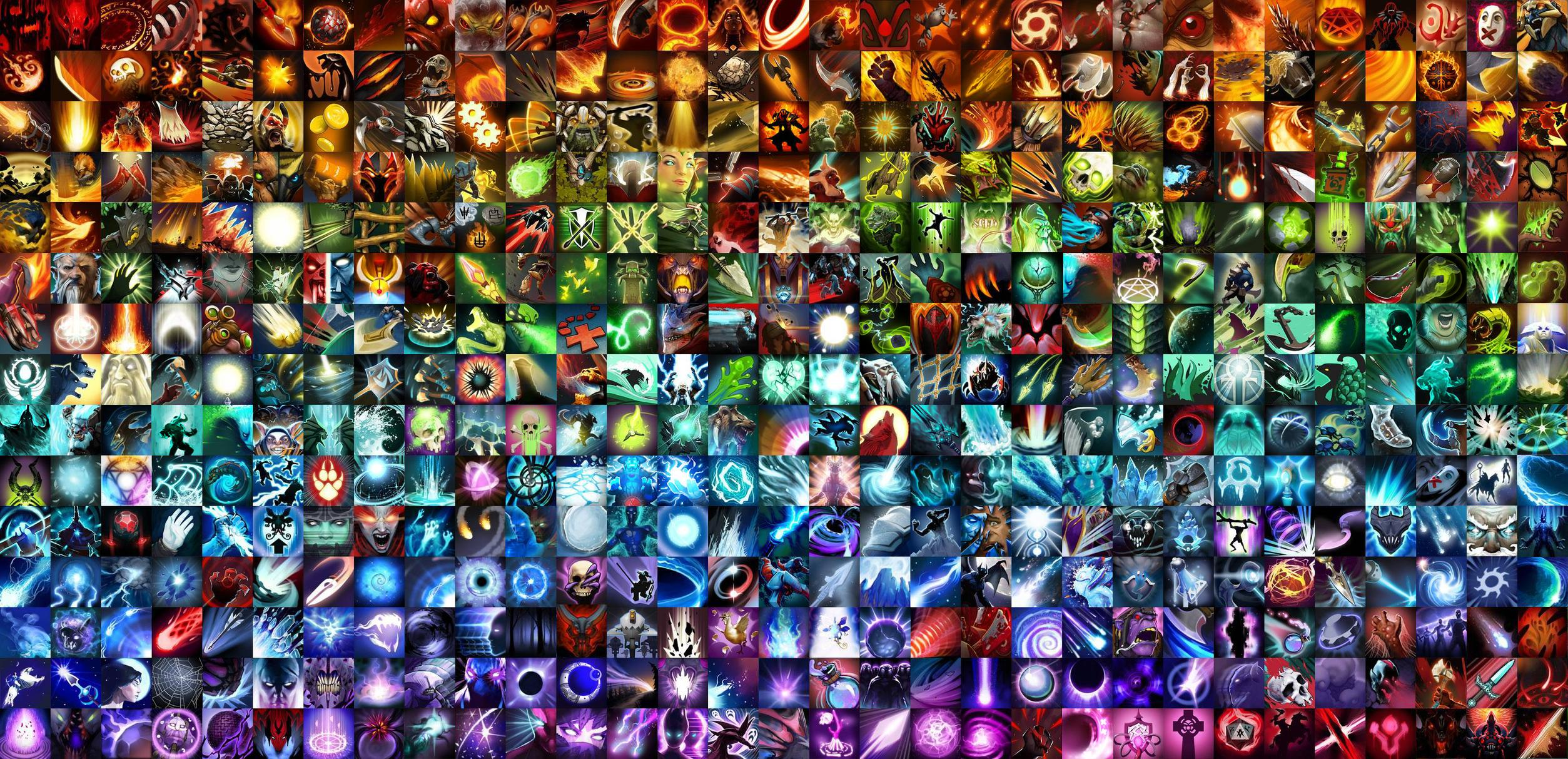 Skills Heroes Dota 2 desktop photos