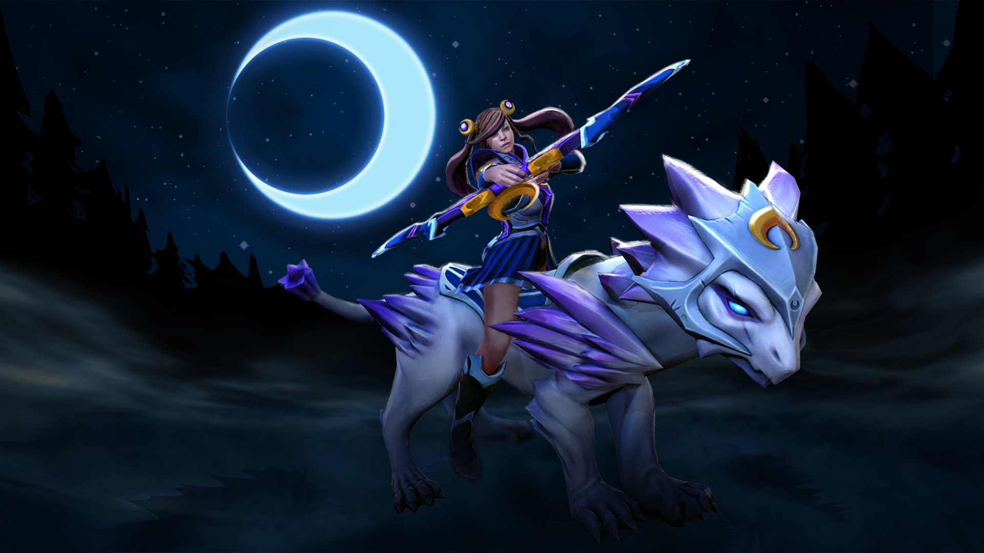 mirana high resolution desktop wallpaper wallpapers dota