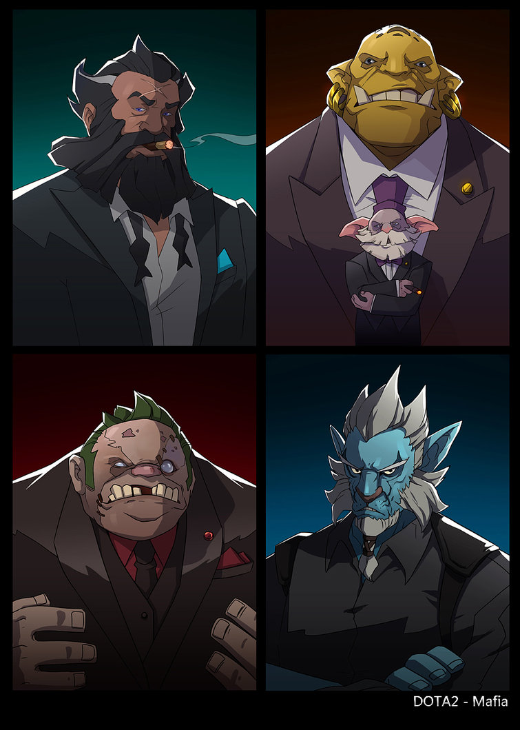 Dota 2 Mafia wallpapers for iphone