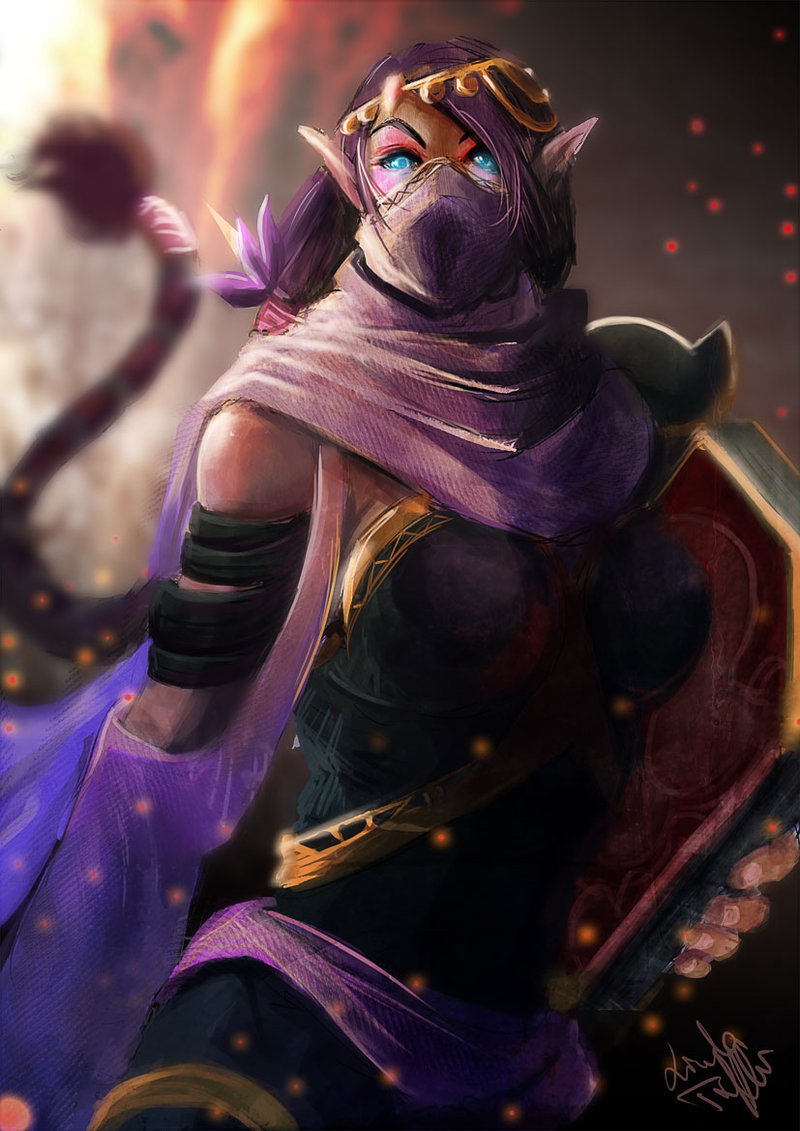 Templar Assassin iphone 4s wallpapers