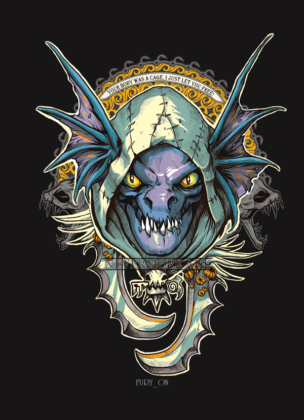 Slark iphone wallpaper black