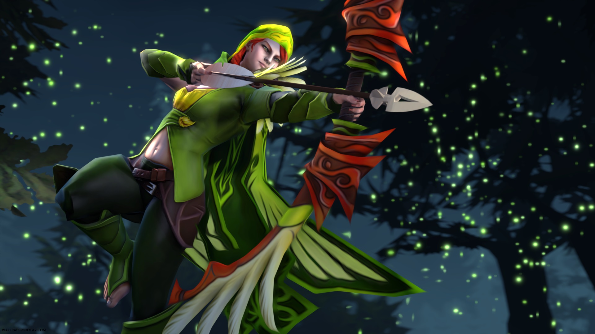 Windrunner desktop computer wallpapers Dota 2