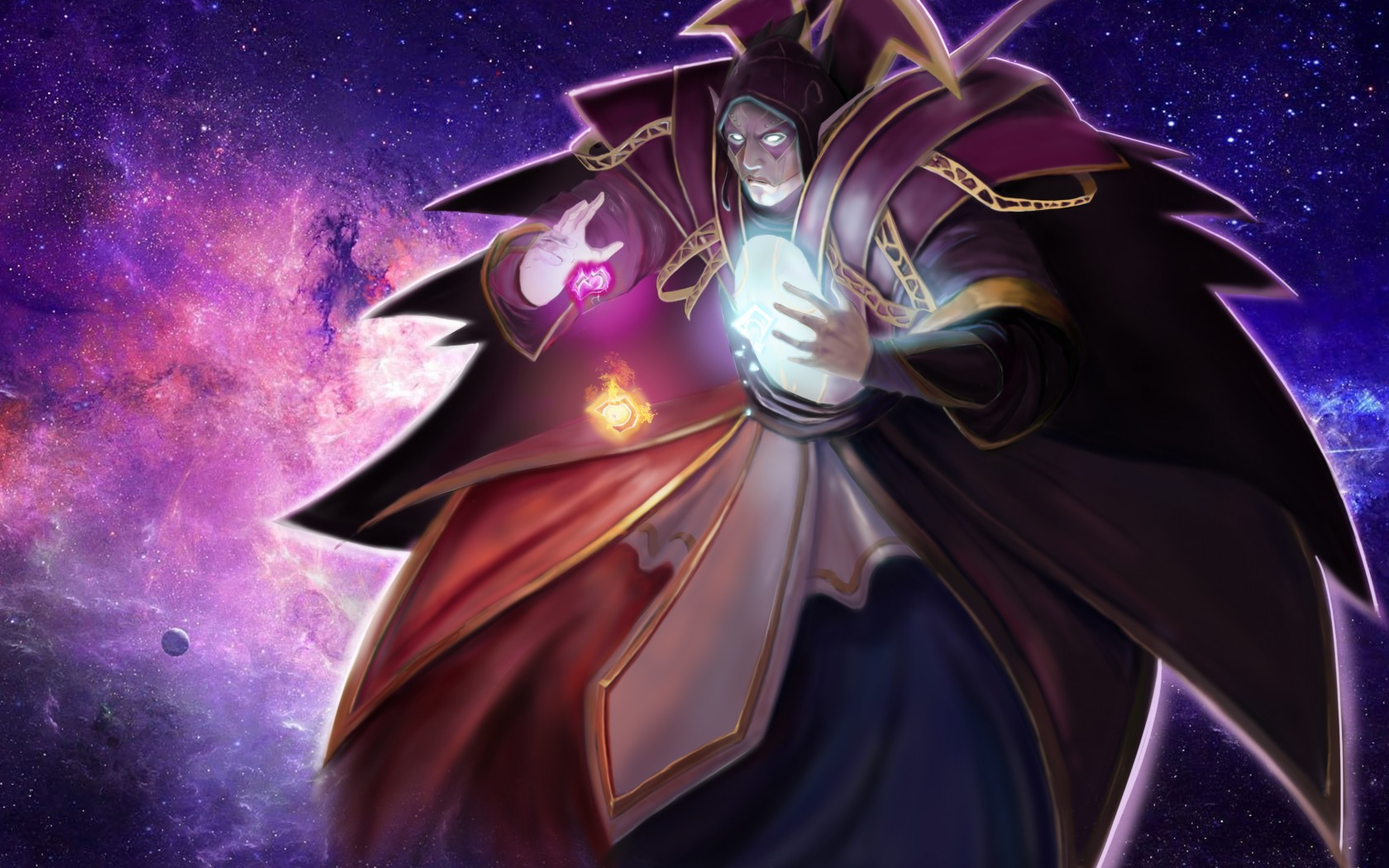 Invoker backgrounds for laptop