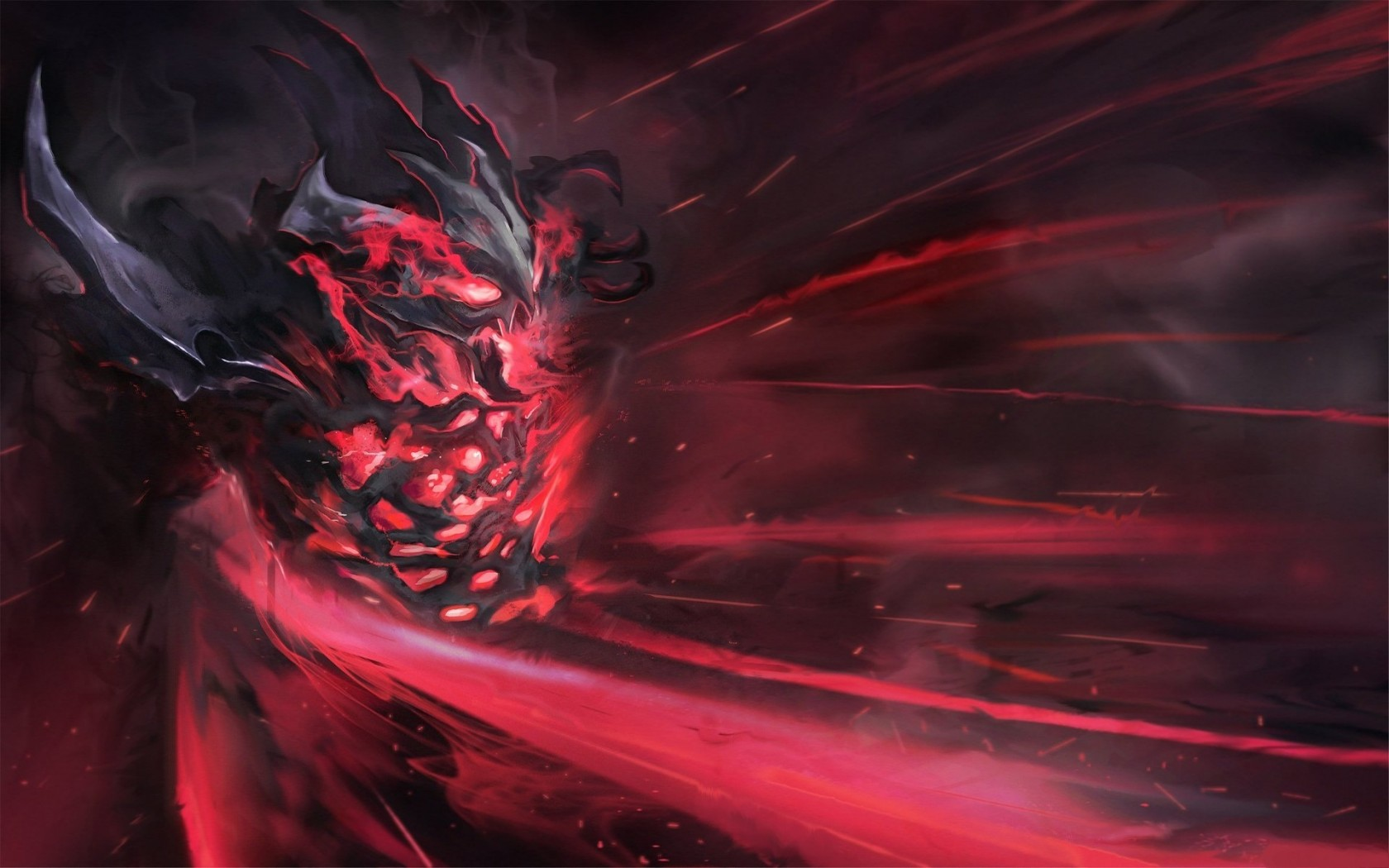 Shadow Fiend nature wallpapers Dota 2