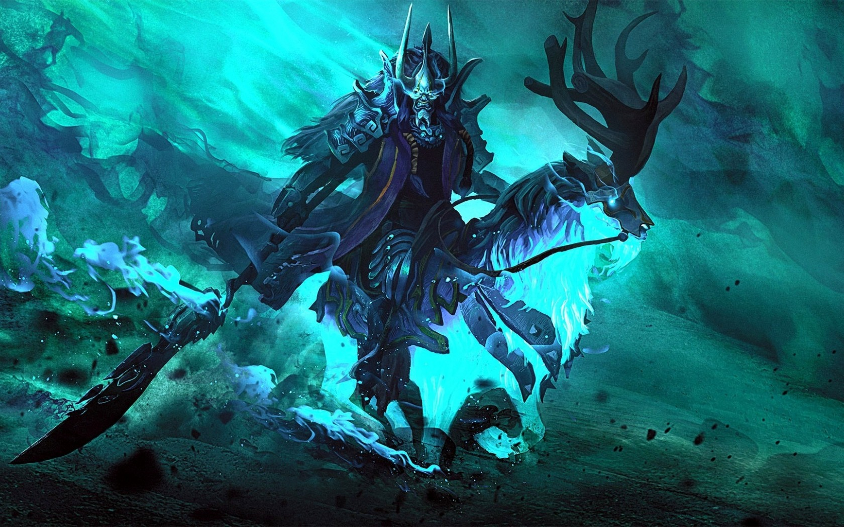 Abaddon pc wallpaper Dota 2
