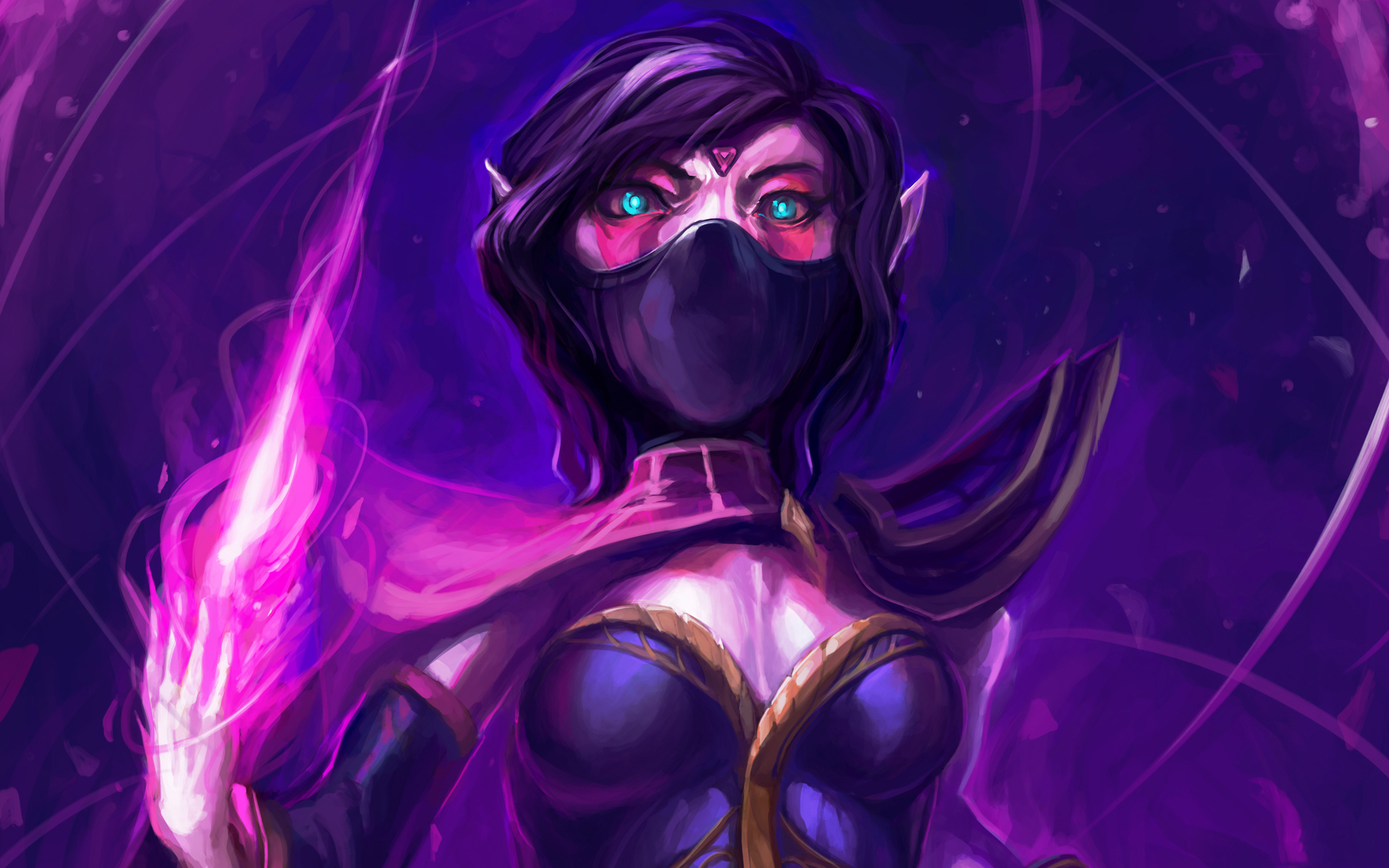 Templar Assassin free wallpaper computer