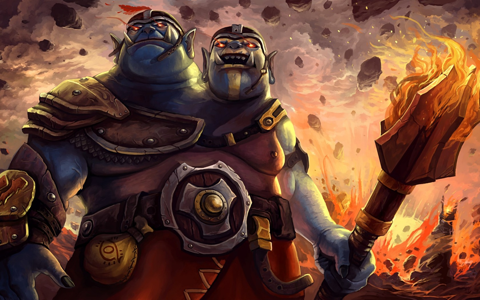 Ogre Magi high resolution wallpapers for desktop