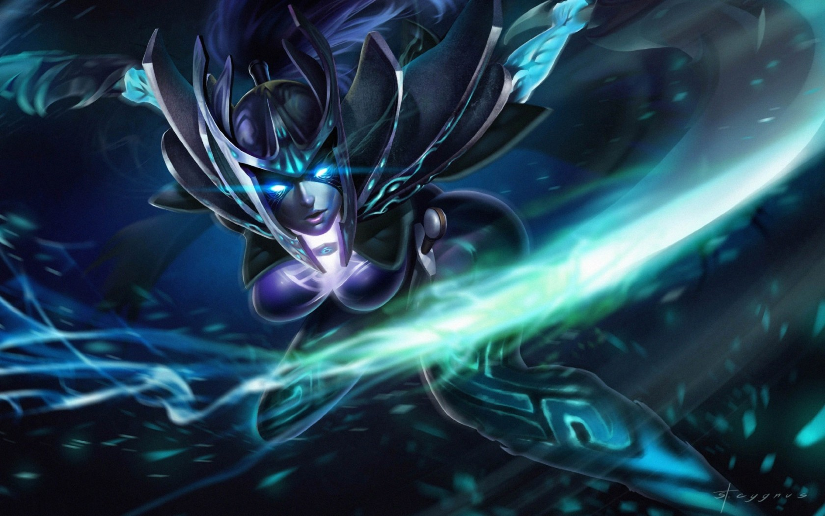 Phantom Assassin, Arcana Mortred