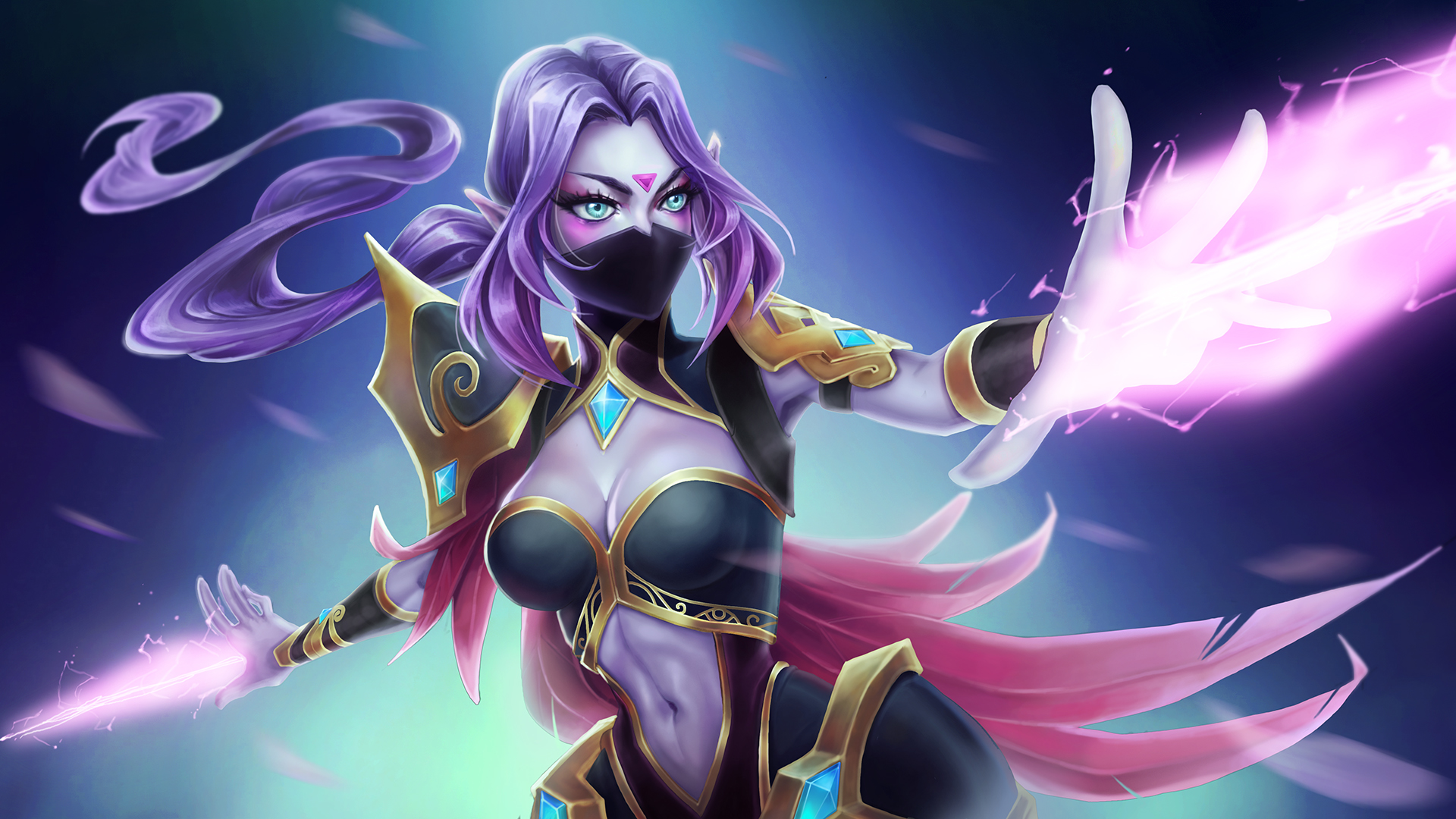 Templar Assassin dota 2 hd wallpapers 1920x1080
