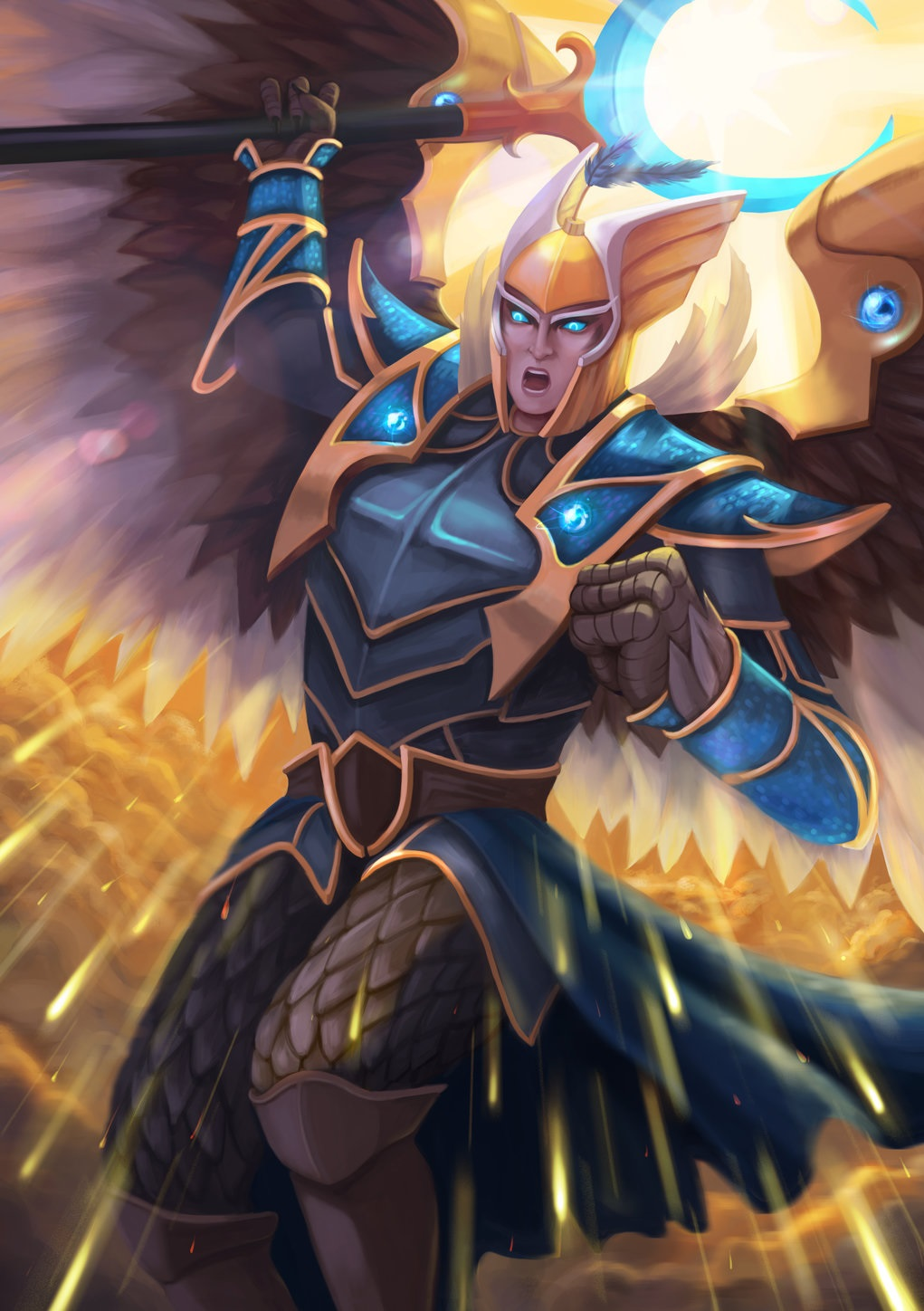 Skywrath Mage mobile phone wallpapers