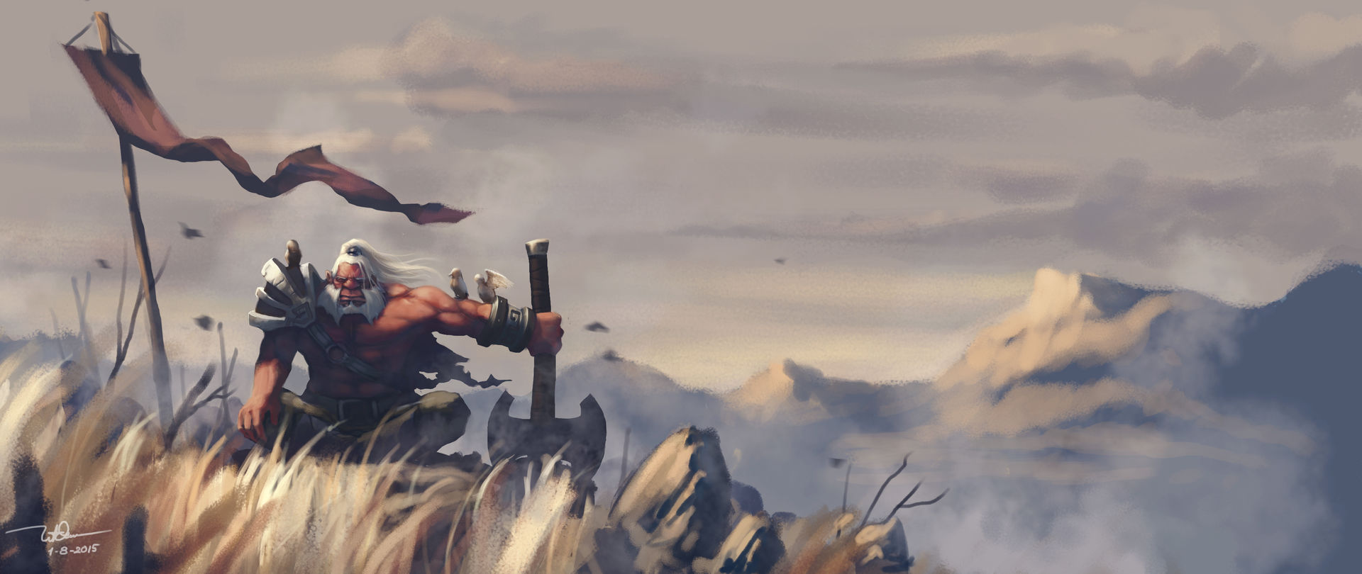 Axe Wallpapers Dota 2