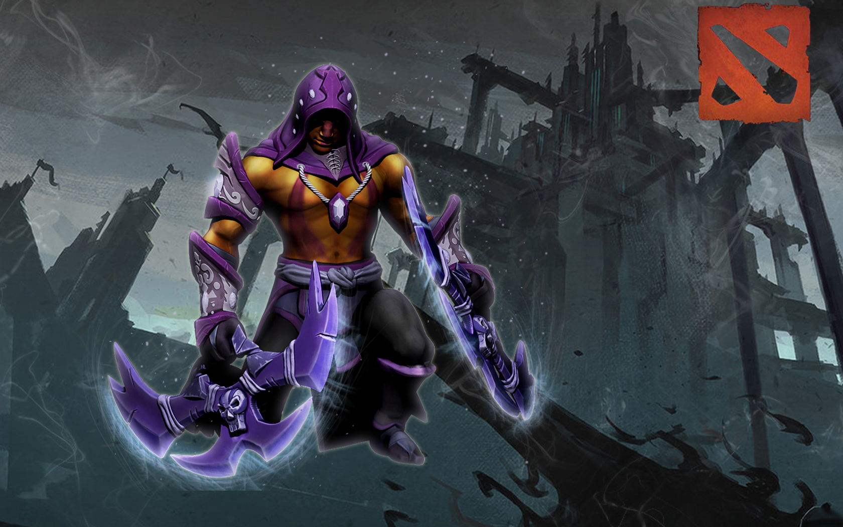 Anti Mage The Clergy Ascetic Set Wallpapers Dota 2
