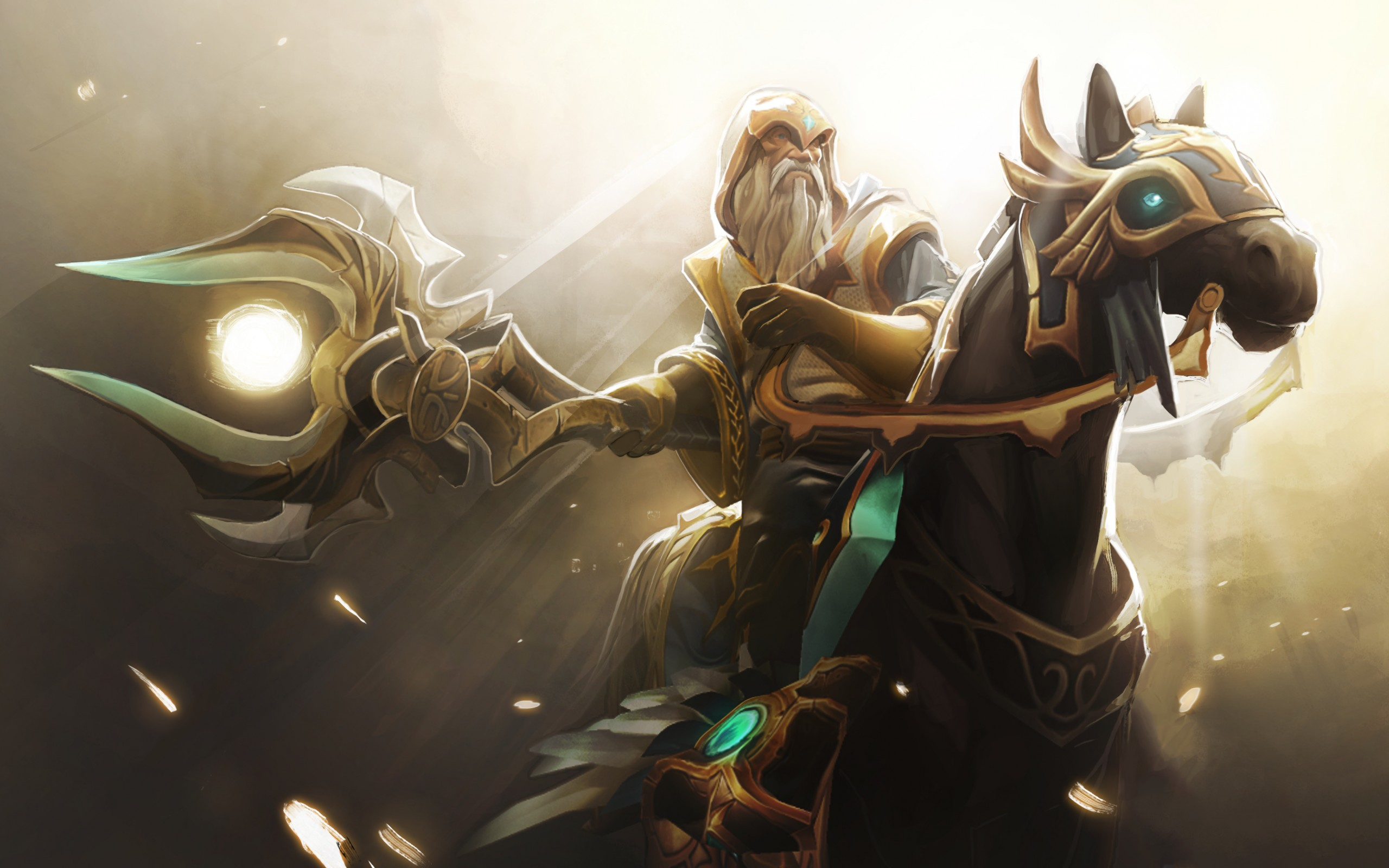 Ezalor, The Keeper of the Light, Котл обои на рабочий стол Дота 2 |  Wallpapers Dota 2 private collection, Background Image