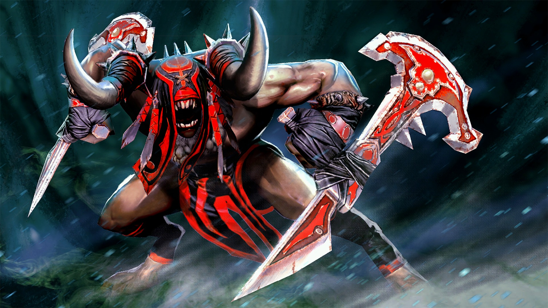 Bloodseeker Tribal Terror Set Wallpapers Hd Wallpapers Dota 2