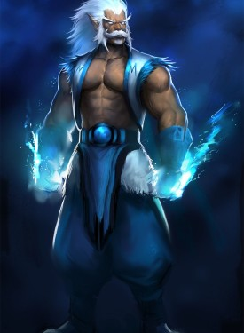 Zeus free wallpaper for cell phones Dota 2