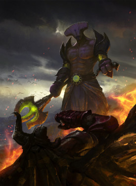 Faceless Void wallpapers Dota 2 for cell phones