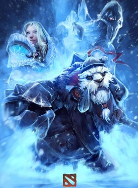 Crystal Maiden & Tusk iphone wallpapers Dota 2