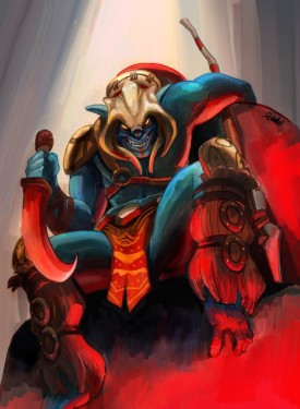 Huskar wallpaper for iphone Dota 2