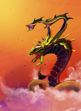 Venomancer iphone retina wallpaper Dota 2
