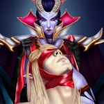 Queen of Pain & Invoker