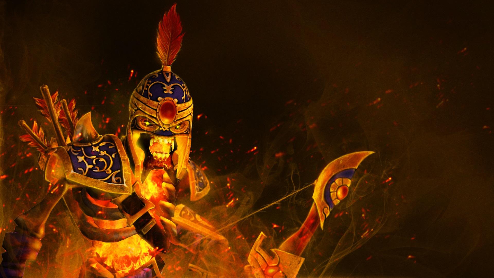 Fiery Sentinel - Clinkz