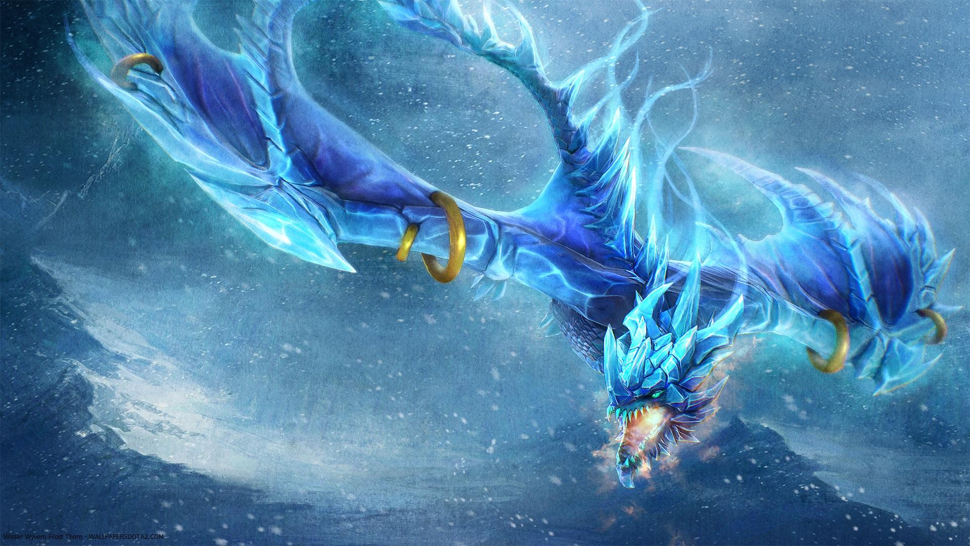 Winter Wyvern Frost Thorn