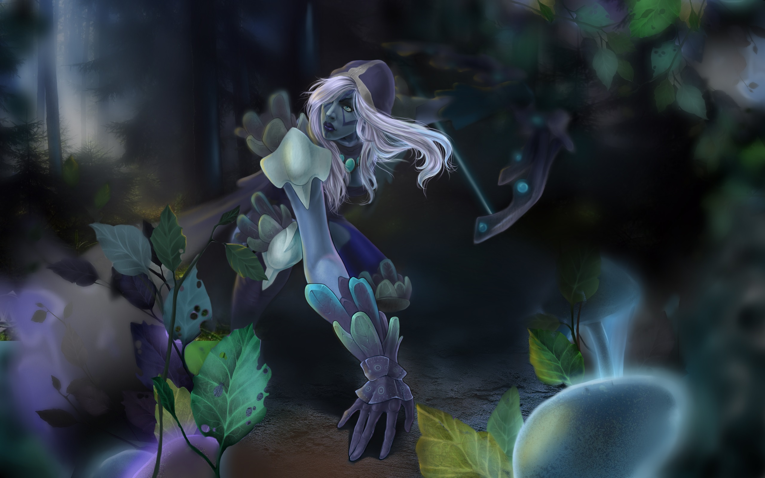 Desktop pc wallpaper Drow Ranger