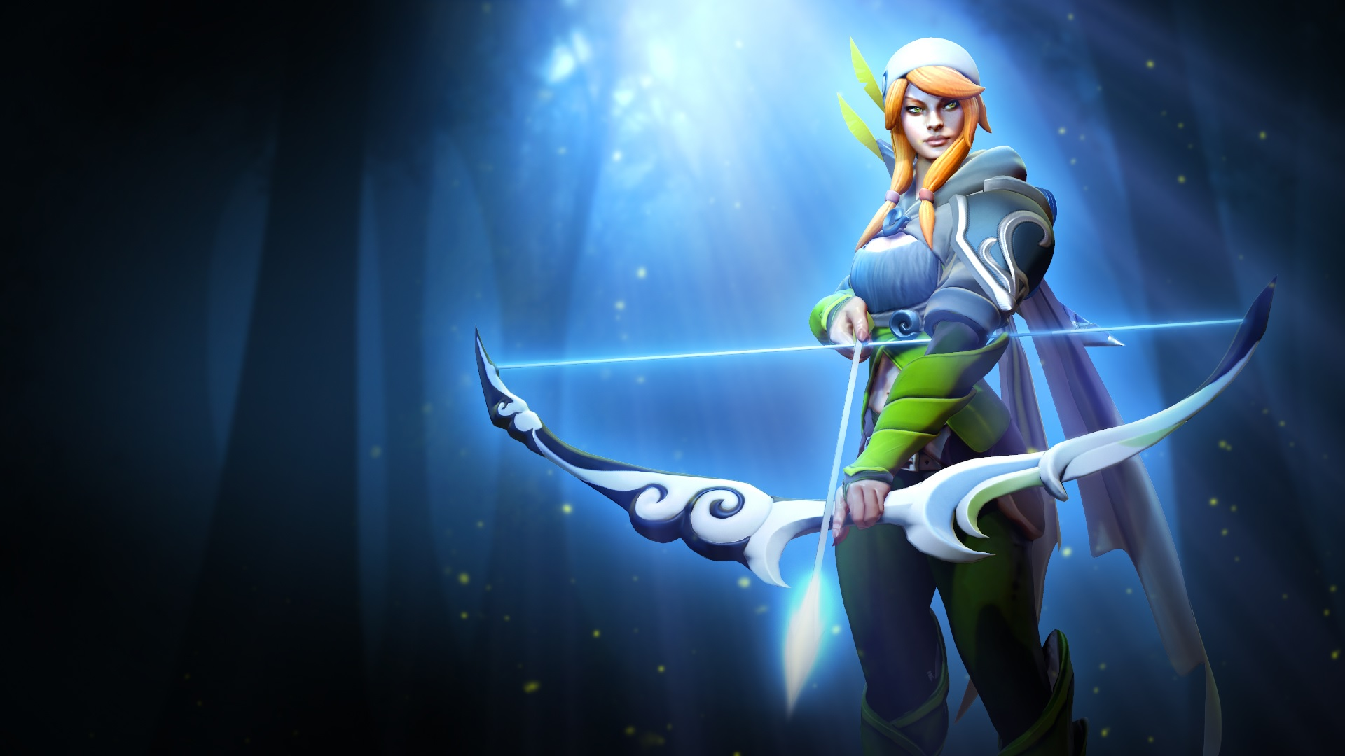 Windrunner desktop pc wallpaper
